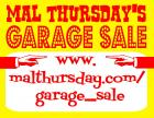 Mal Thursday's Garage Sale: It Continues