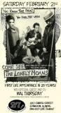 Lonely Moans at 27 Live w/ special guest & DJ Mal Thursday